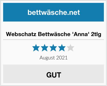 No Name Webschatz Bettwäsche 'Anna' 2tlg Test