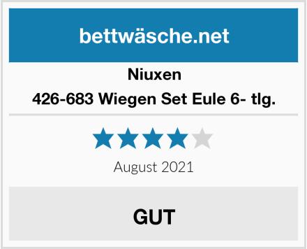Niuxen 426-683 Wiegen Set Eule 6- tlg. Test