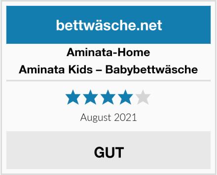 Aminata-Home Aminata Kids – Babybettwäsche Test