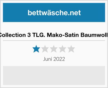 Class Home Collection 3 TLG. Mako-Satin Baumwolle Bettwäsche Test