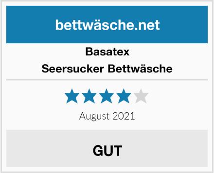 Basatex Seersucker Bettwäsche Test