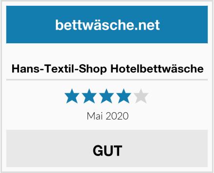 Hans-Textil-Shop Hotelbettwäsche Test