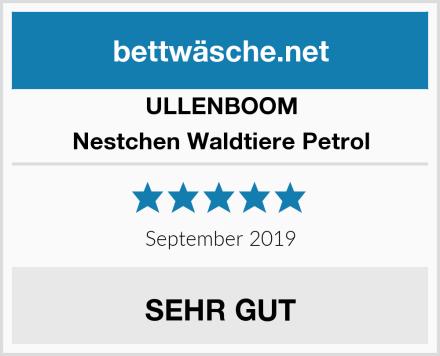 ULLENBOOM Nestchen Waldtiere Petrol Test