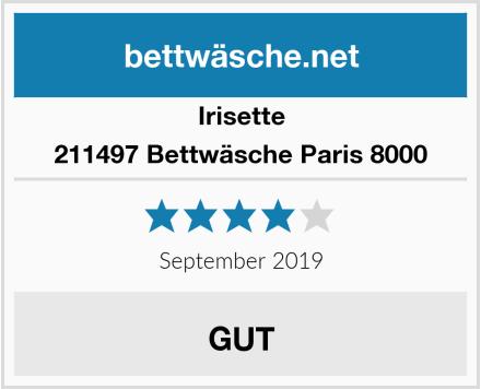 Irisette 211497 Bettwäsche Paris 8000 Test