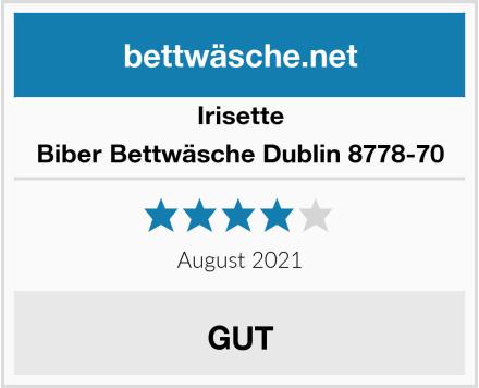 Irisette Biber Bettwäsche Dublin 8778-70 Test
