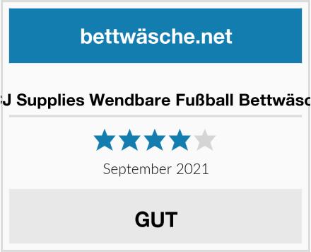 PCJ Supplies Wendbare Fußball Bettwäsche Test