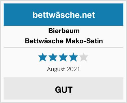 Bierbaum Bettwäsche Mako-Satin Test
