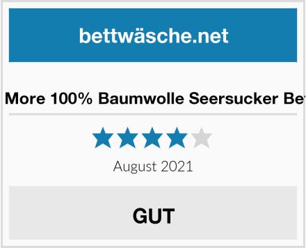 Sale And More 100% Baumwolle Seersucker Bettwäsche Test