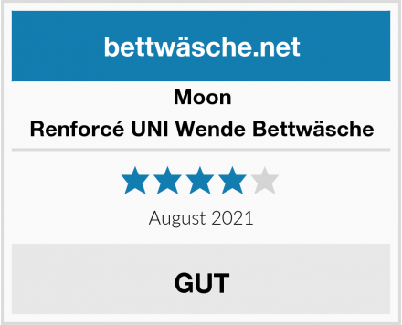 Moon Renforcé UNI Wende Bettwäsche Test