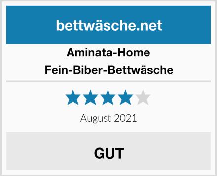 Aminata-Home Fein-Biber-Bettwäsche Test