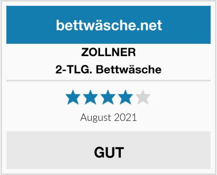 ZOLLNER 2-TLG. Bettwäsche Test