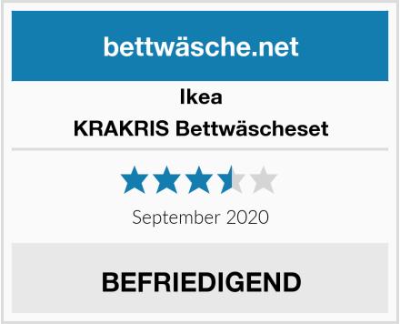 Ikea KRAKRIS Bettwäscheset Test