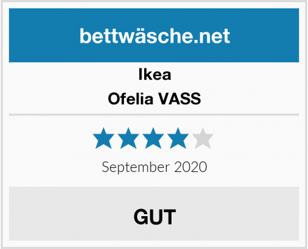 Ikea Ofelia VASS Test