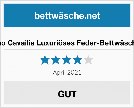 Gaveno Cavailia Luxuriöses Feder-Bettwäsche-Set Test