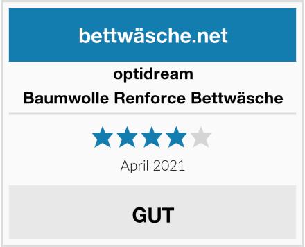 optidream Baumwolle Renforce Bettwäsche Test