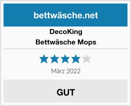DecoKing Bettwäsche Mops Test