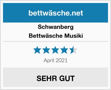 Schwanberg Bettwäsche Musiki Test