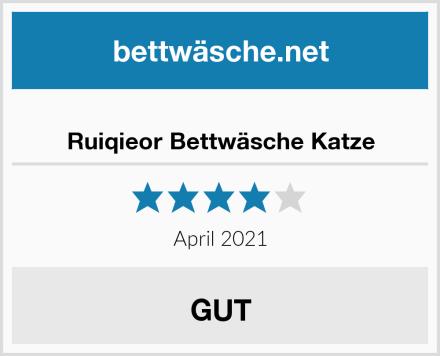 Ruiqieor Bettwäsche Katze Test