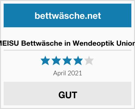 YOUMEISU Bettwäsche in Wendeoptik Union Jack Test
