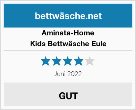 Aminata-Home Kids Bettwäsche Eule Test