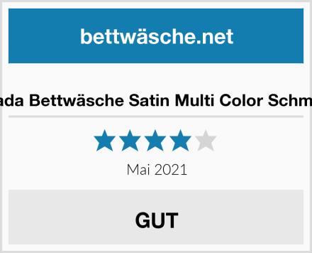 HIP Parada Bettwäsche Satin Multi Color Schmetterling Test