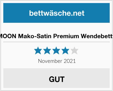 BLUE MOON Mako-Satin Premium Wendebettwäsche Test