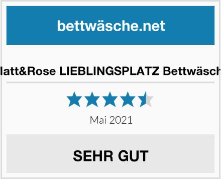 Matt&Rose LIEBLINGSPLATZ Bettwäsche Test