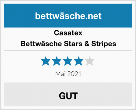 Casatex Bettwäsche Stars & Stripes Test