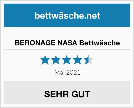 BERONAGE NASA Bettwäsche Test