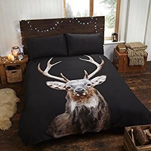 Bettwäsche mit Hirschen