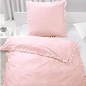 Bettwäsche mit Rüschen