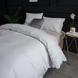 Bettwäsche mit Spitze