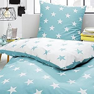 Bettwäsche mit Sternen