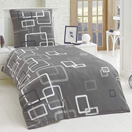 Dreamhome 2 teilige Microfaser Bettwäsche Bettbezug Boxes