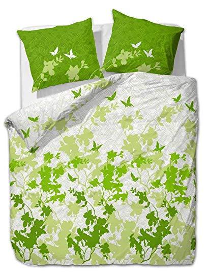 etérea Bettwäsche Osaka Schmetterlinge Grün