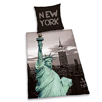 Herding 485916050412 Bettwäsche New York Liberty