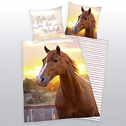 Herding Bettwäsche mit Pferd