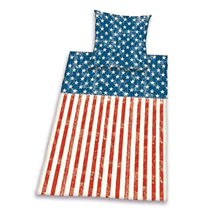 Herding Young Collection Bettwäsche-Set Stars and Stripes