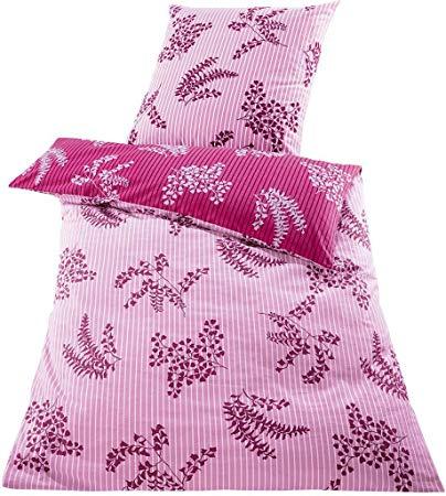 Meradiso Feinbiber-Wendebettwäsche pink/rosa