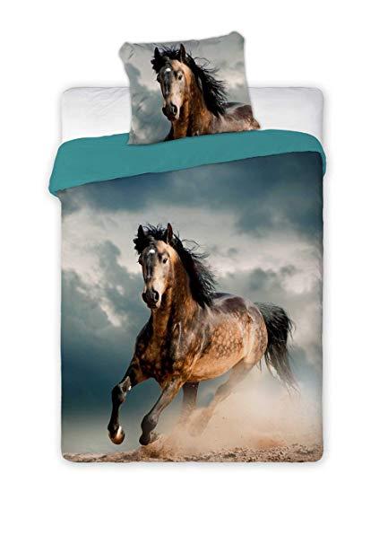 Faro 2 TLG Pferde Jugend Bettwäsche