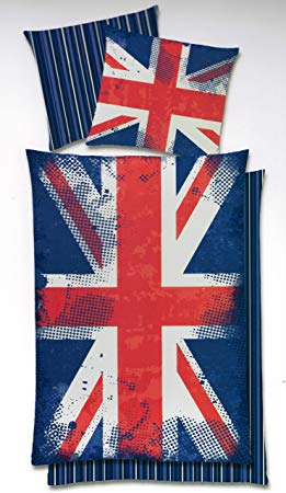 No Name Global Labels Union Jack Motiv