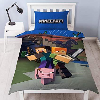 No Name Minecraft – Wendebettwäsche-Set
