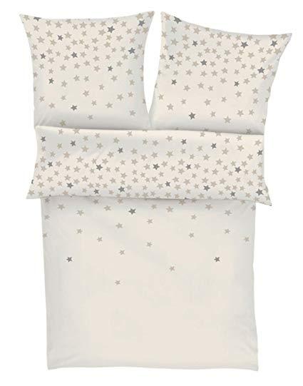 s.oliver Flanell Bettwäsche Sterne