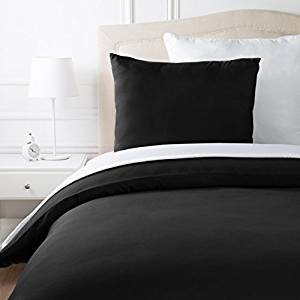 Schwarze Bettwäsche
