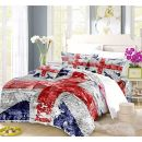 REALIN Bettbezüge Set Union Jack