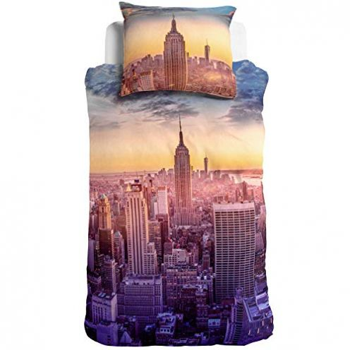 ESPiCO 3D Digitaldruck Bettwäsche Empire State Building
