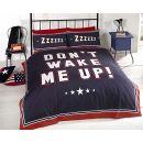 Homespace Bettwäscheset für Einzelbett – Don't wake me up