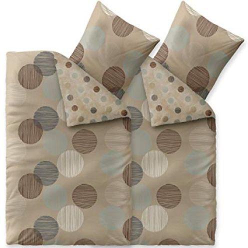 aqua-textil Trend Bettwäsche 135 x 200 cm Punkte