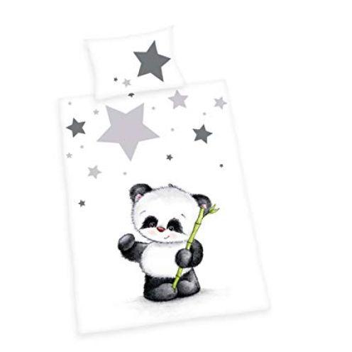Herding Baby Best Kleinkinder-Bettwäsche-Set Jana Panda