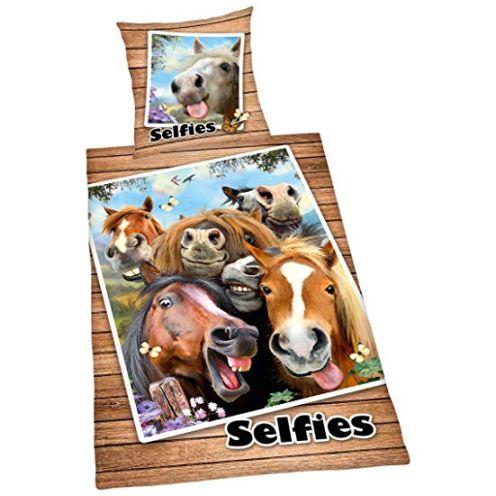 Herding Bettwäsche Selfies Pferde